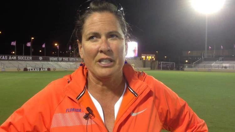 Becky Burleigh University of Florida soccer coach Becky Burleigh 103