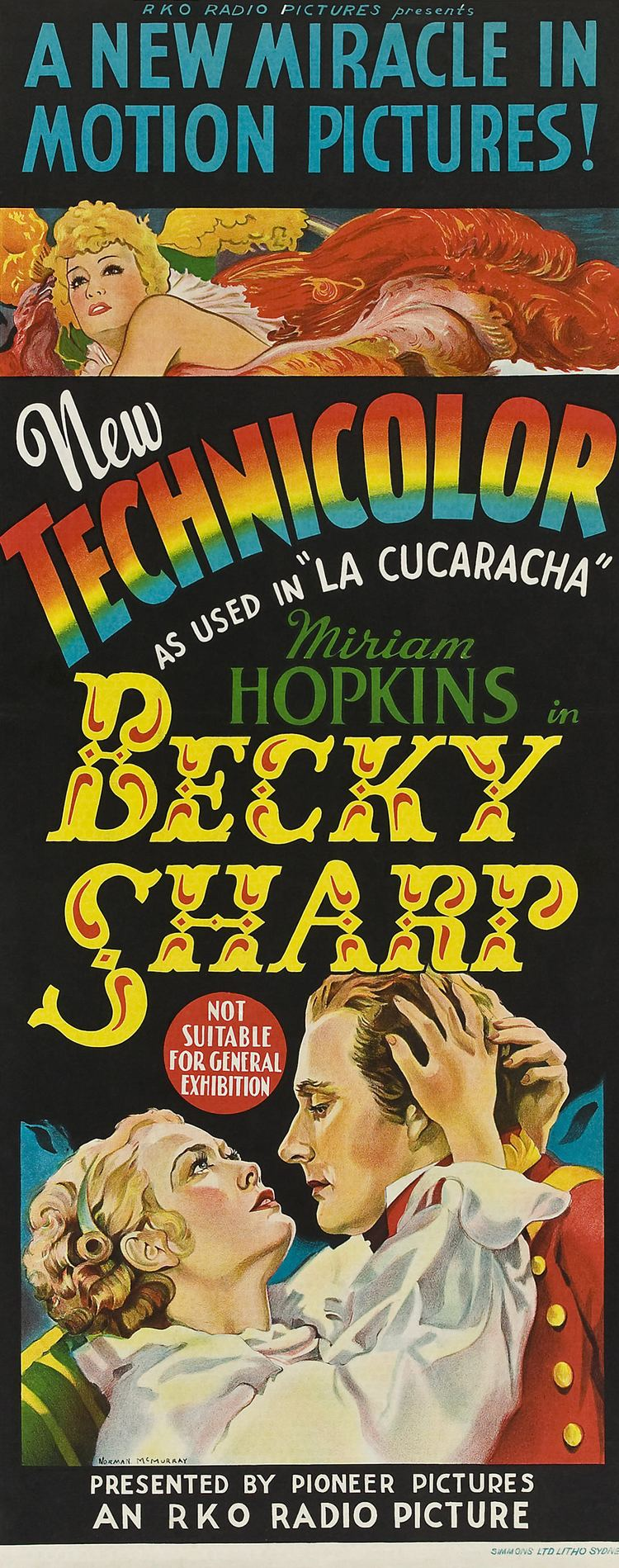 Becky Sharp Becky Sharp Rouben Mamoulian 1935 Movie classics
