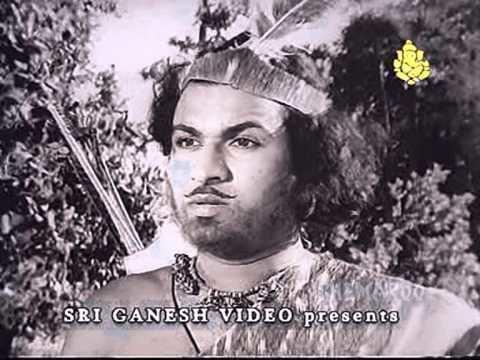 Bedara Kannappa Mayage Siluki Bedara Kannappa Rajkumar Kannada Devotional