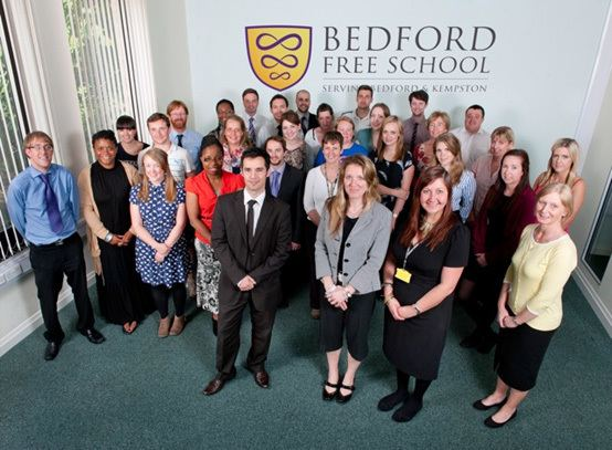 Bedford Free School Bedford Free School News Full team ahead at Bedford Free School