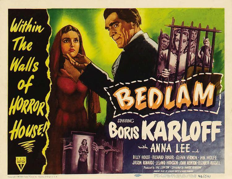 Bedlam (film) Bedlam 1946 HORRORPEDIA