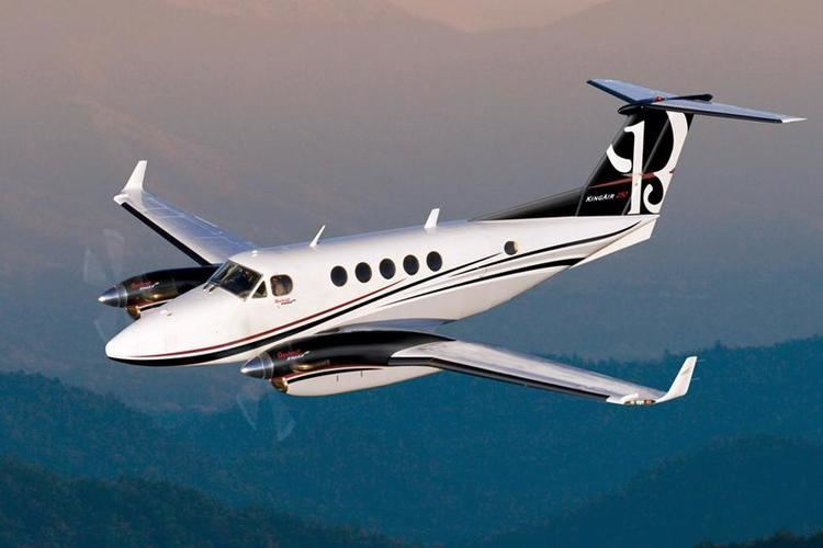 Beechcraft King Air Private Jet Charter Beech BE200 Super King Air PrivateFly