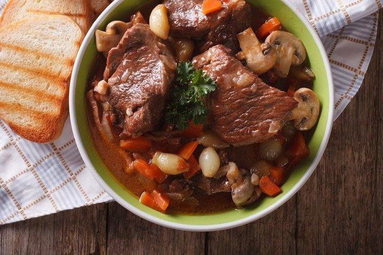 Beef bourguignon Beef Bourguignon recipe Epicuriouscom