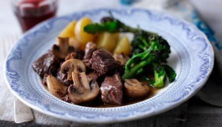 Beef bourguignon BBC Food Recipes Beef bourguignon