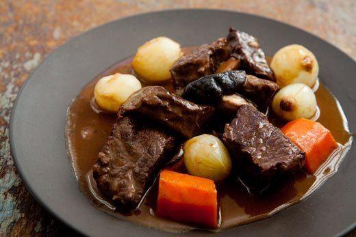 Beef bourguignon Beef Bourguignon Recipe SimplyRecipescom