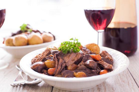Beef bourguignon Boeuf Bourguignon A La Julia Child Recipe Foodcom