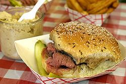 Beef on weck httpsuploadwikimediaorgwikipediacommonsthu