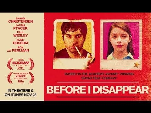Before I Disappear Before I Disappear 2014 Movie Review By Zachary Marsh YouTube