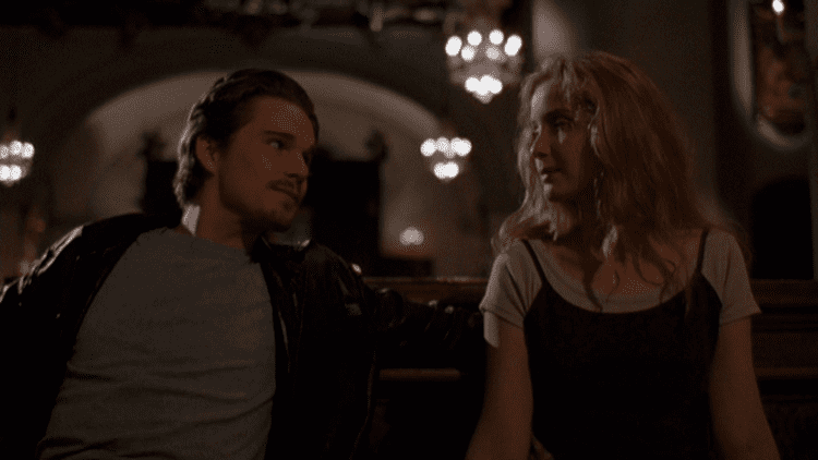 Before Sunrise movie scenes Few people saw Before Sunrise when it was released in 1995 but those who did really loved it In its own subtle and unassuming way Richard Linklater s film