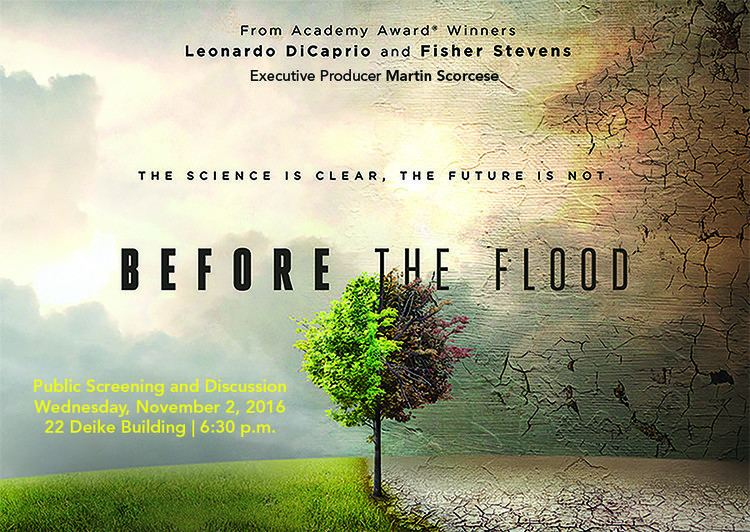 Before the Flood (film) Screening discussion of climate change film 39Before the Flood39 set