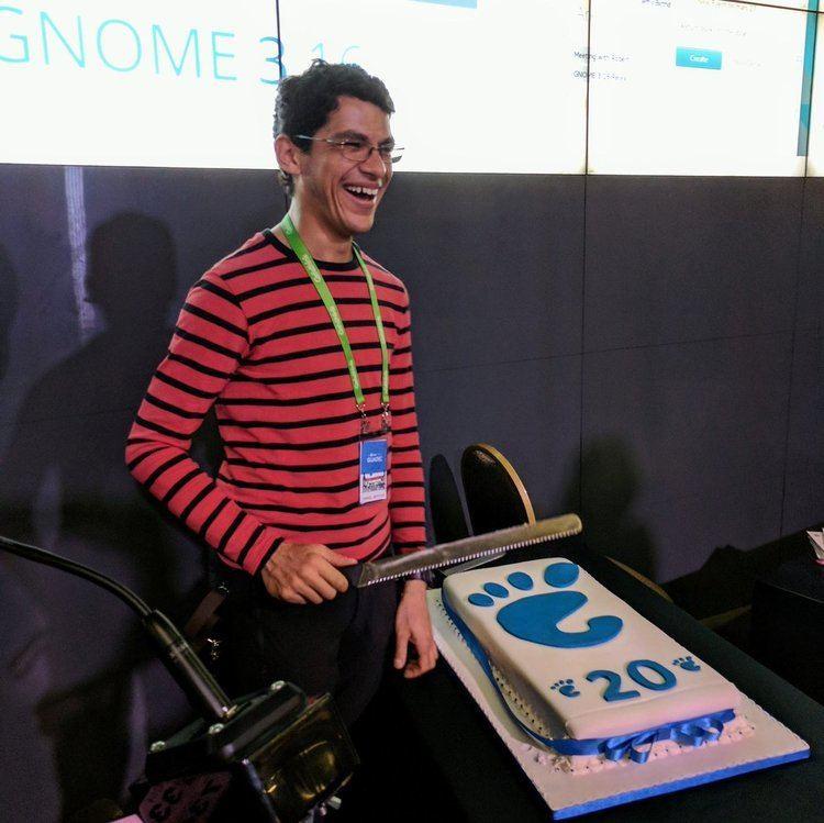 Behdad Esfahbod Happy 20th Birthday GNOME GNOME