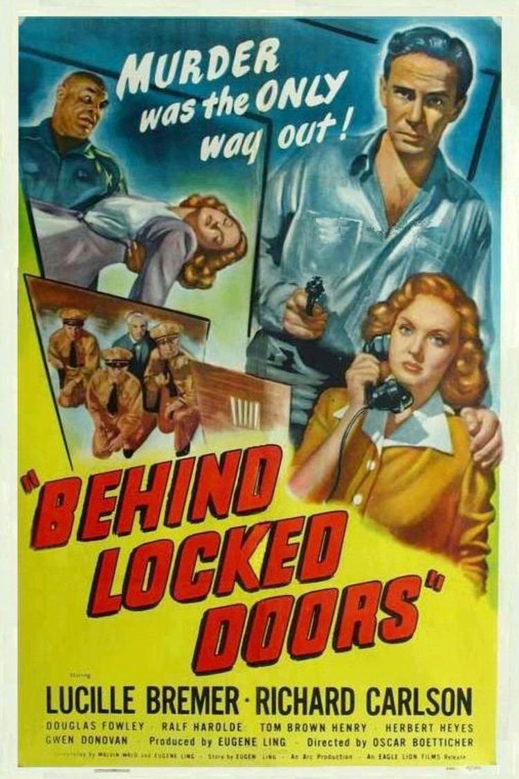 Behind Locked Doors Bobby Rivers TV On BEHIND LOCKED DOORS 1948