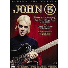 Behind the Player: John 5 httpsuploadwikimediaorgwikipediaenthumbb