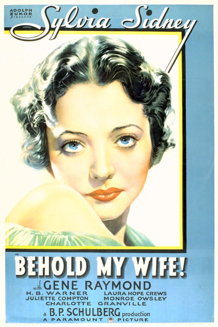 Behold My Wife! (1934 film) wwwgstaticcomtvthumbmovieposters46026p46026