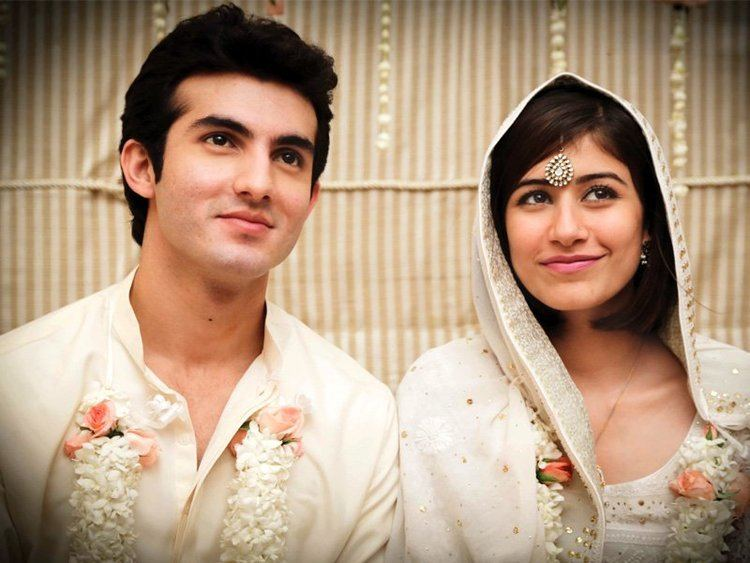 Behroze Sabzwari Young lovers Saira and Shahroz tie the knot The Express