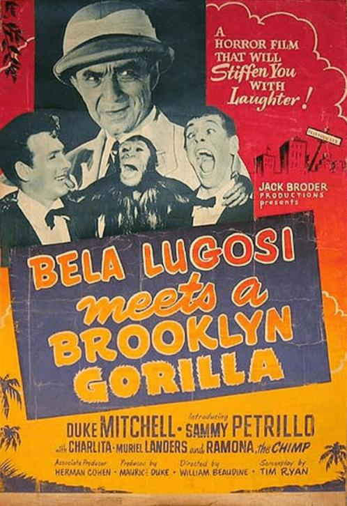 Bela Lugosi Meets a Brooklyn Gorilla Bela Lugosi Meets a Brooklyn Gorilla Jack Broder Productions Inc