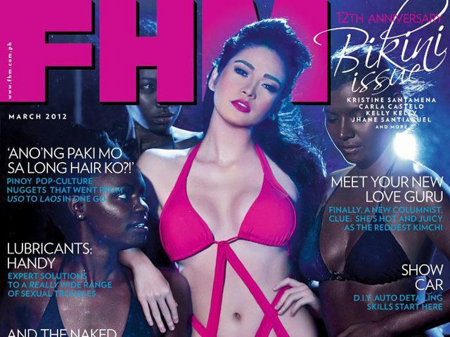 Bela Padilla FHM recalls racist cover of March issue apologizes Showbiz