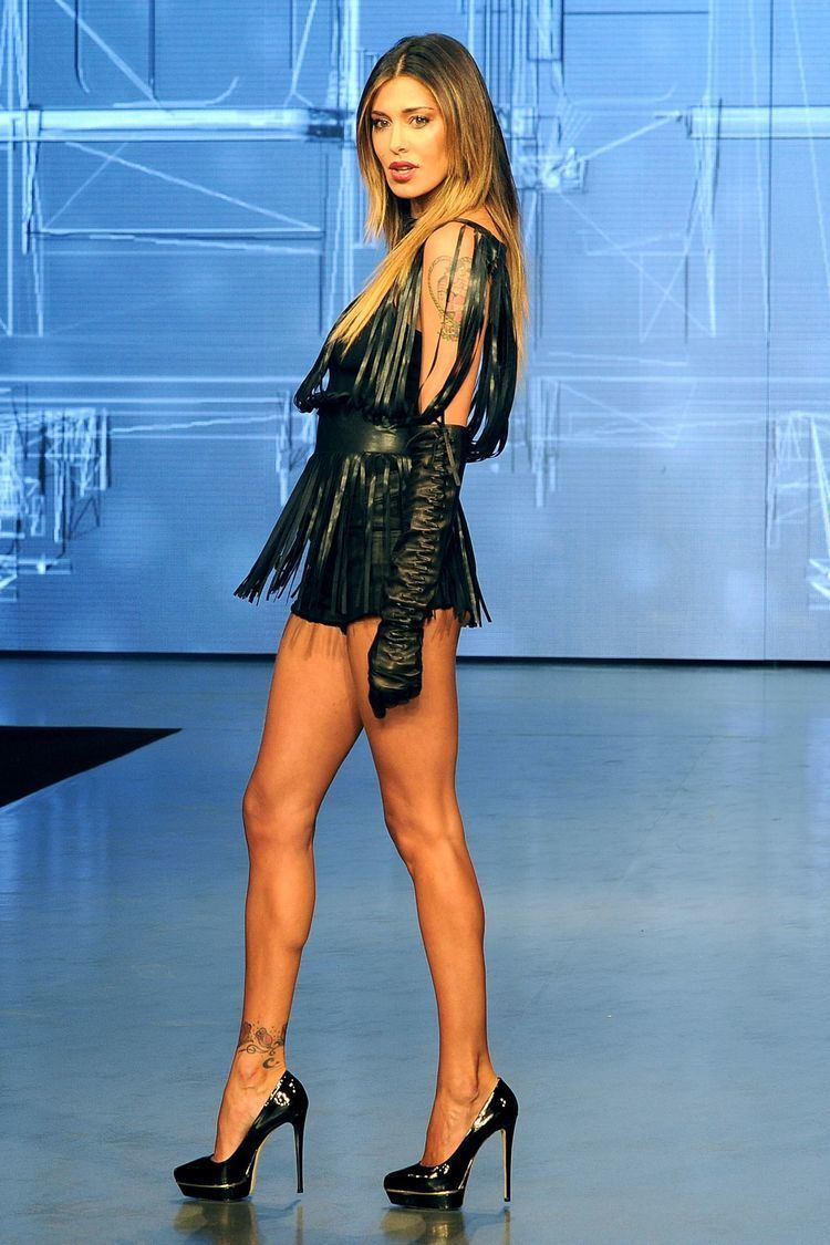 Belen Rodriguez Belen Rodriguez Catwalk at 39Imperfect39 Show Milan
