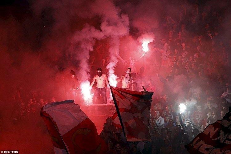 Belgrade (film) movie scenes The Belgrade derby between Red Star Belgrade and Partizan Belgrade was marred by violent scenes that
