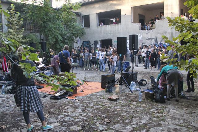 Belgrade (film) movie scenes No one involved in the Belgrade alternative scene plays music because they have any pretense of making it they just want to play music
