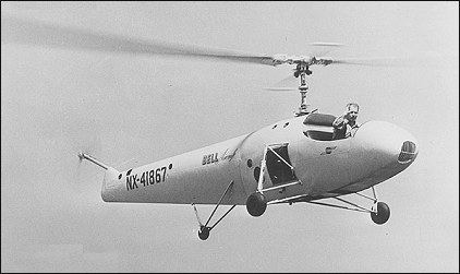 Bell 30 Bell Model 30 helicopter development history photos technical data