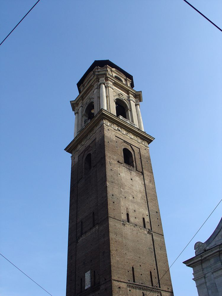 Bell tower FileTurin Duomo bell towerjpg Wikimedia Commons