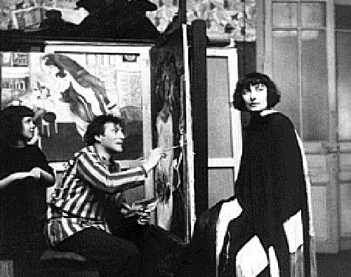 Bella Rosenfeld Three muses of Marc Chagall Beauty will save