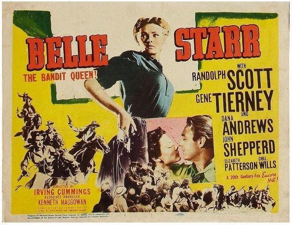 Belle Starr (film) GENE TIERNEY WEB SITE Belle Starr 1941