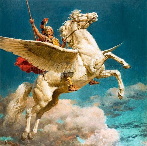 Bellerophon Bellerophon is a hero of Greek mythology His