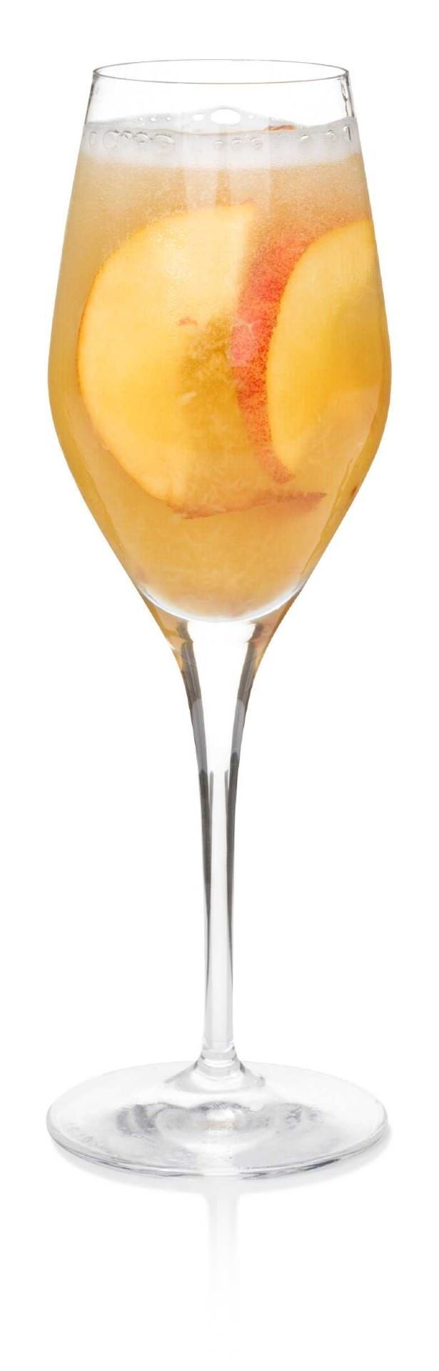 Sparkling Peach Vodka Cocktail | Recipe | Peach vodka