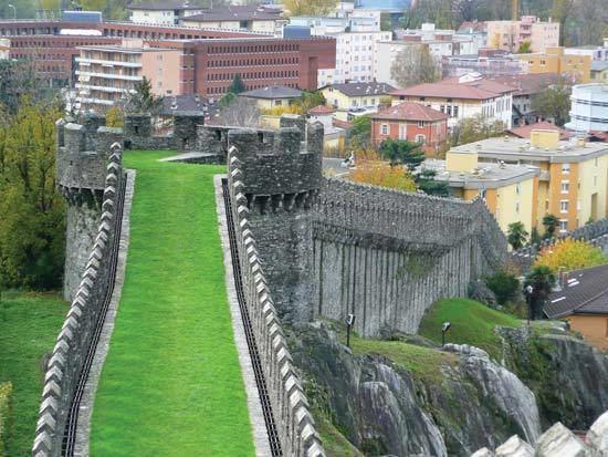 Bellinzona in the past, History of Bellinzona