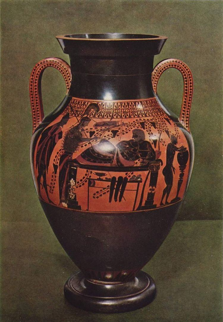 Belly Amphora by the Andokides Painter (Munich 2301)