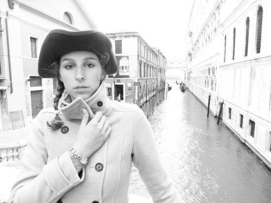 Belmal For Belmal Malletier at Venice Italy photoshoot October 2015