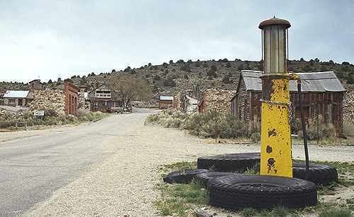 Belmont, Nevada Belmont Nevada Ghost Town Historic Site Picture Gallery