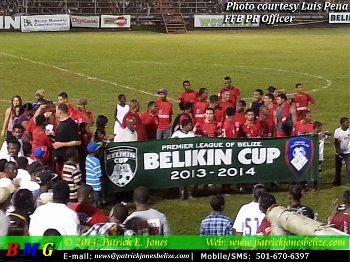 Belmopan Bandits Belmopan Bandits win football championship Belize News and Opinion