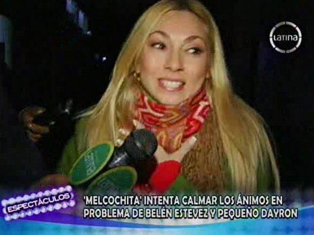Belén Estévez Beln Estvez fue en busca del nio de quotJueves de pavitaquot para