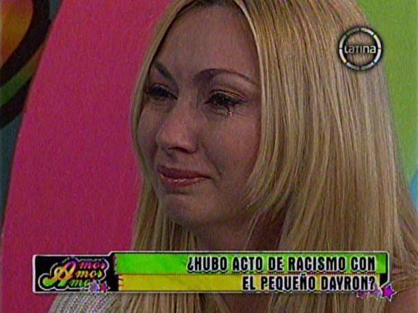Belén Estévez Beln Estvez llora y pide perdn tras ser tachada como racista por