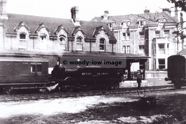 Bembridge railway station rp00103 Isle of Wight Bembridge Railway Station photo 6x4 eBay