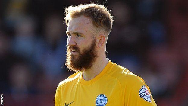 Ben Alnwick BBC Sport Ben Alnwick Peterborough United goalkeeper