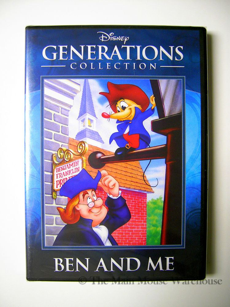 Ben and Me Disney Generations Collection Ben and Me Rare DVD Benjamin Franklin