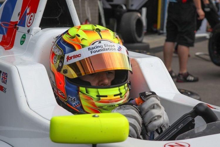 Ben Barnicoat Ben Barnicoat Racing Steps Foundation