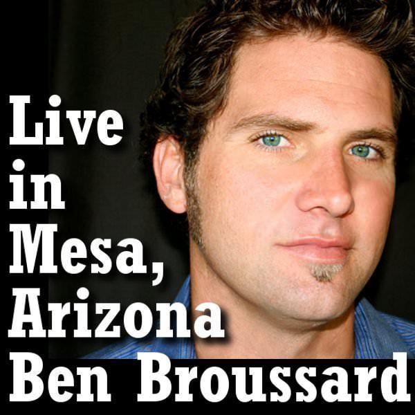 Ben Broussard Ben Broussard on Stage March 15th for AZ RBI Youth Program