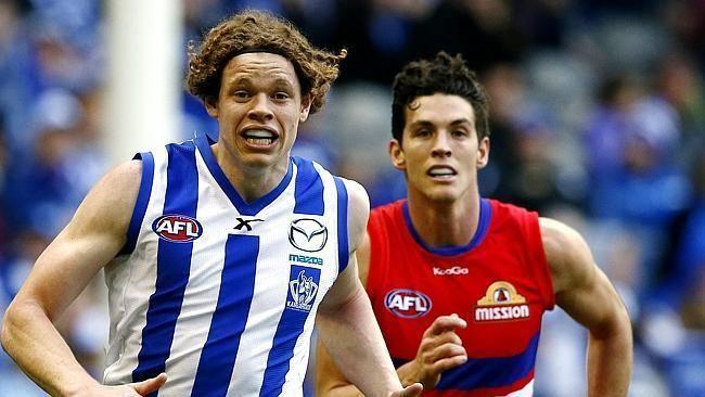 Ben Brown (footballer) Kangaroos see huge future up front for big Ben Brown The