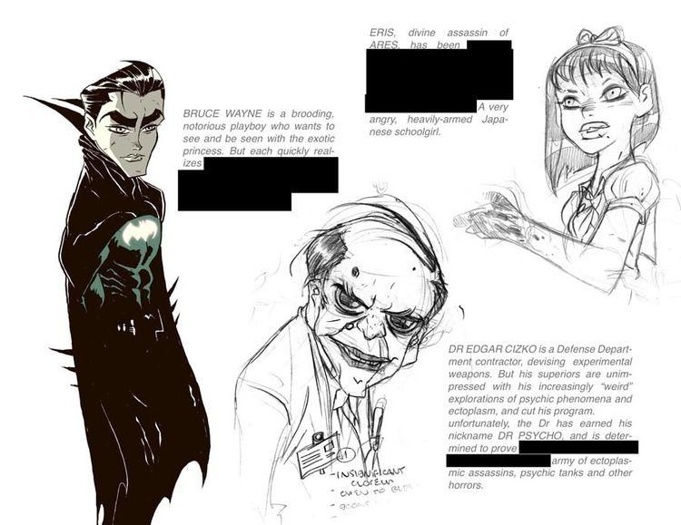 Ben Caldwell (cartoonist) The Lost Wonder Women Of Drew Johnson Adam Hughes And Ben Caldwell