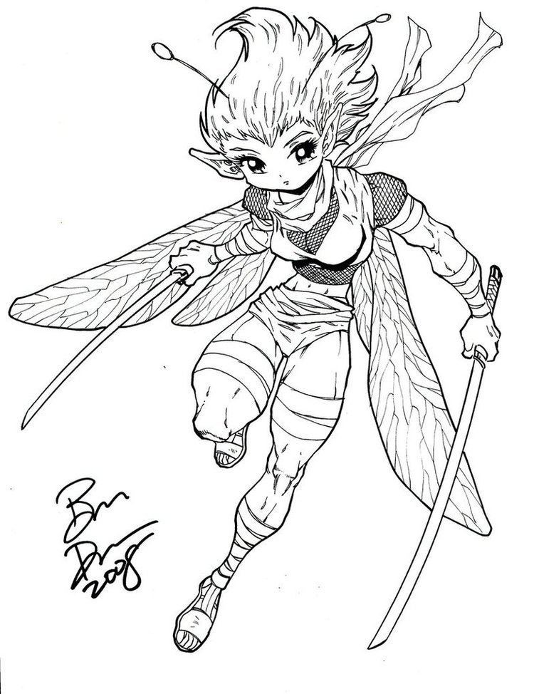 Ben Dunn She is Ninja too by Ben Dunn by jkrolak on DeviantArt