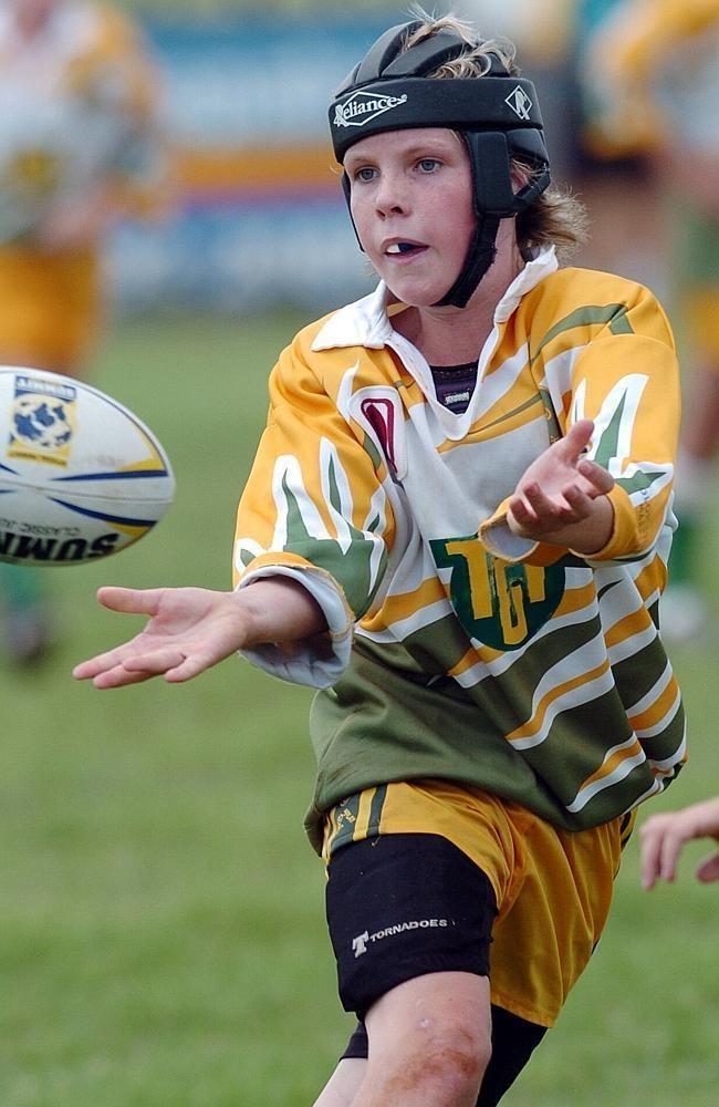 Ben Hampton Melbourne Storm rookie Ben Hampton will never forget his