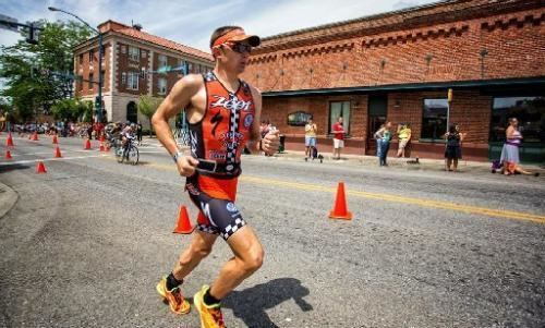 Ben Hoffman (triathlete) Boulder triathlete Ben Hoffman sets course record at Coeur dAlene