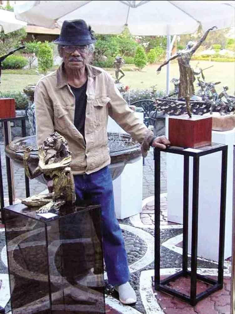 Ben Hur Villanueva BenHur Villanueva Sculptor with a heart Inquirer lifestyle