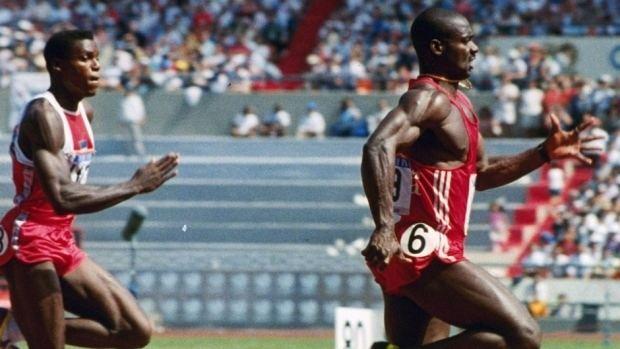 Ben Johnson (sprinter) Disgraced sprinter Ben Johnson headlines antidoping