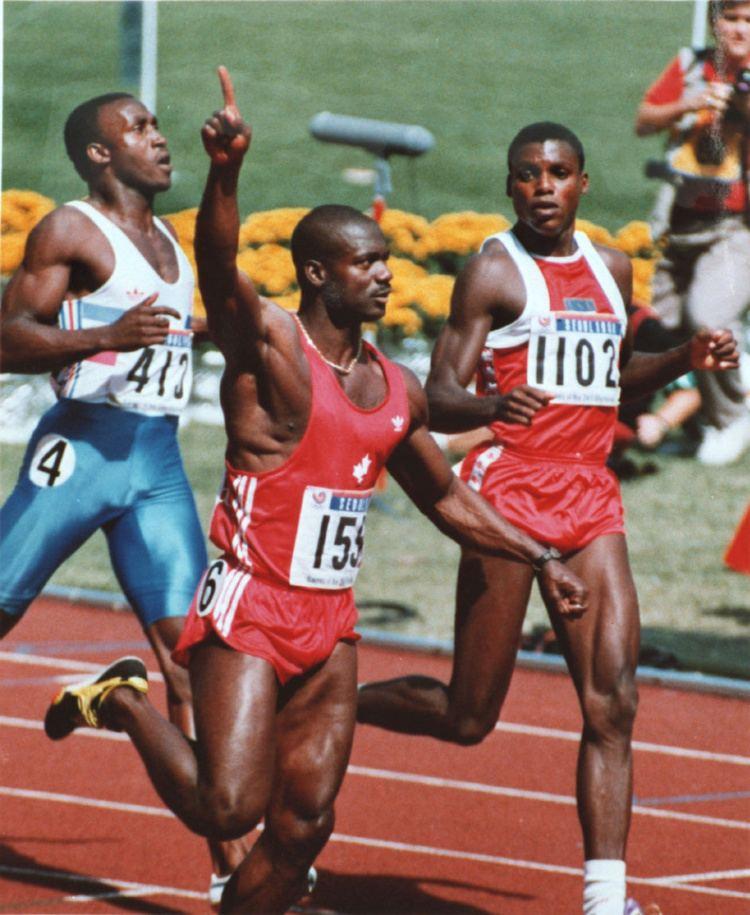 Ben Johnson (sprinter) Lance Armstrong Disgraced sprinter Ben Johnson advises